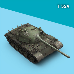 world of tanks t55a